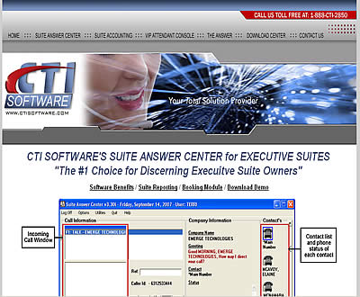 Computer Telephone Software Website